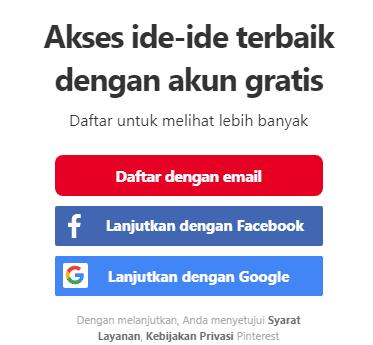 Cara Download Gambar Di Pinterest Melalui Hp Android Iphone Dan Laptop Tanpa Aplikasi Bloggadogado