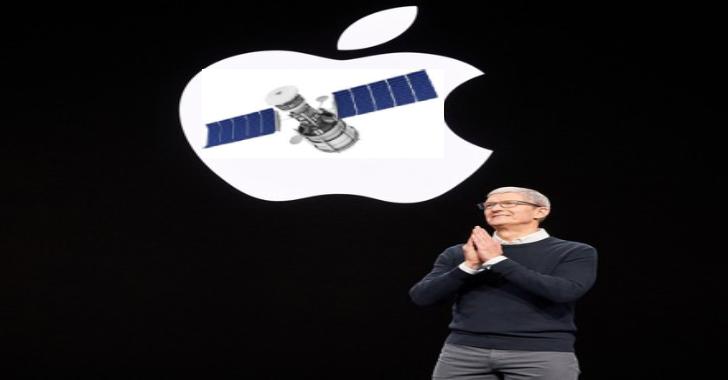 Apple Working On Satellite Technology To Send Data