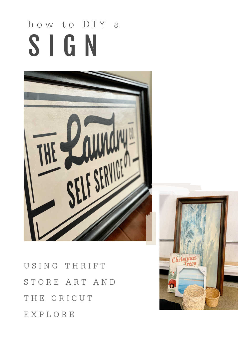 THRIFT STORE ART UPCYCLE