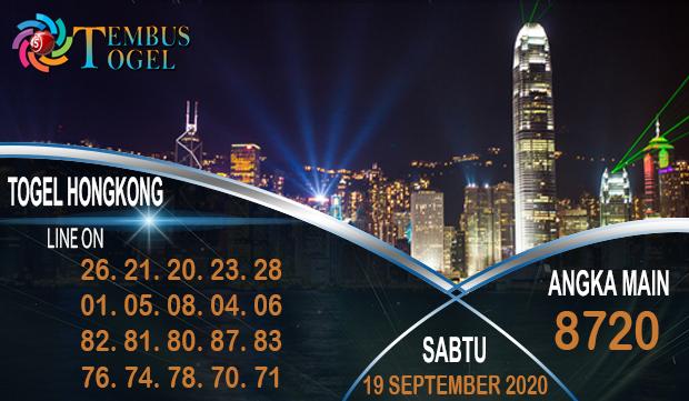 Mimpi TembusTogel Hongkong Sabtu 19 September 2020