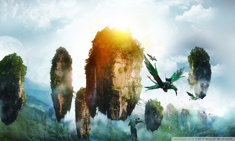cảnh trong phim Avatar - chúng ta có thể mô phỏng trong bể thủy sinh