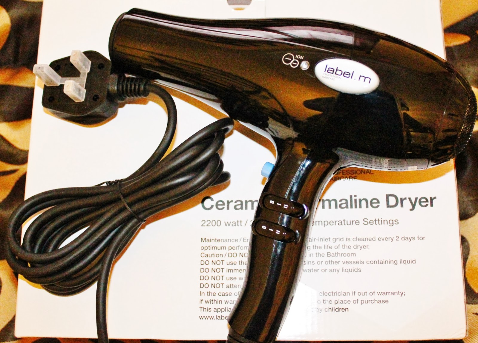 This is a picture of Breathtaking Hair Dryer Label M