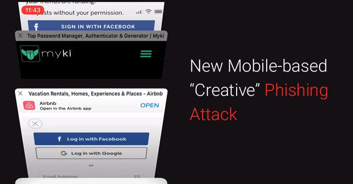 phishing attack mobile phones