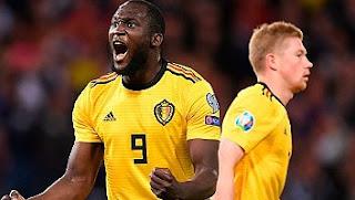 Skotlandia vs Belgia 0-4 Highlights