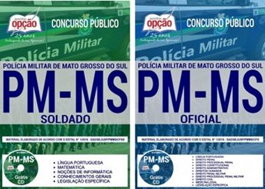 Apostila Concurso PM-MS 2018 Soldado e Oficial