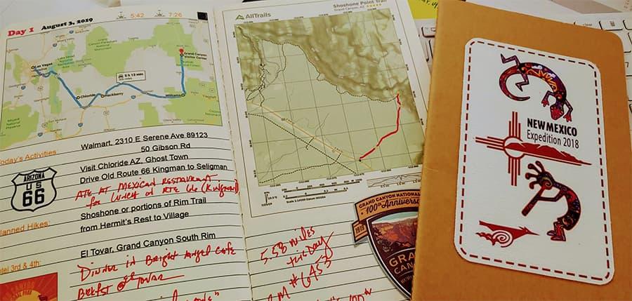 Ranger Dave Tours RV Trip Journals