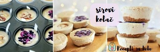 sirovi kolač za djecu