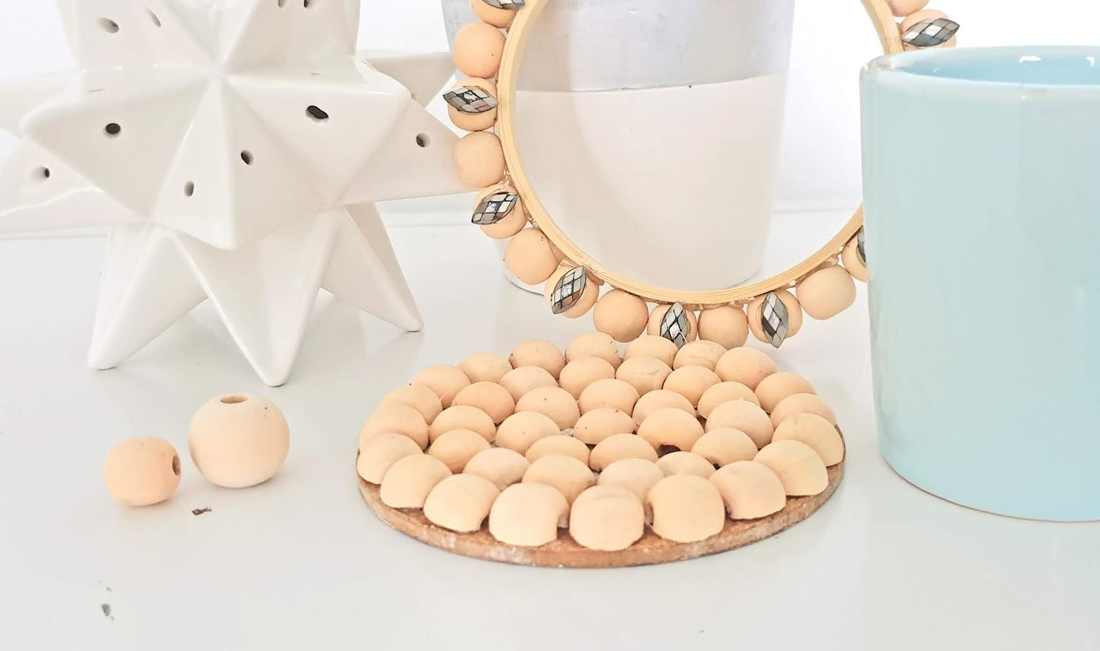 Wooden beads DIY