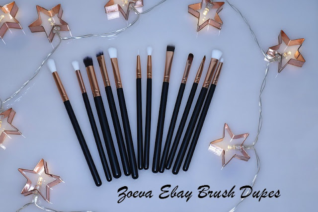 Ebay Zoeva Dupe Eye Brush Set
