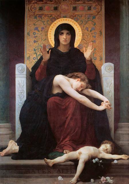 Адольф Вильям Бугро - Мадонна утешающая (1875)