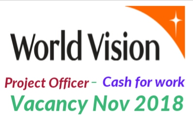 World vision jobs 2018/19
