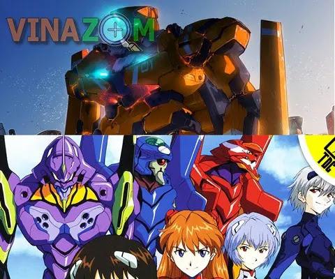 Anime Mecha hay nhất