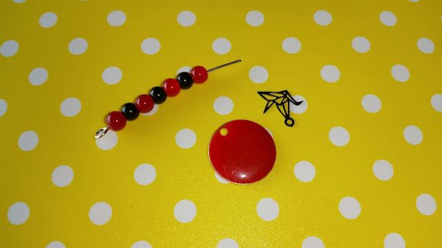 parure, origami, bijoux, bracelet, boucles d'oreilles, bonnie parker, perles des loisirs