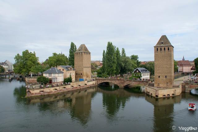 Ponti coperti e torri di Strasburgo