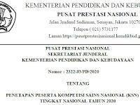 2 Siswa SMP Pasaman Barat Ikuti KSN Nasional 2020 : SMP IT Darul Hikmah dan SMPN 3 Pasaman