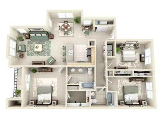 desain rumah minimalis 3 kamar tidur type 60