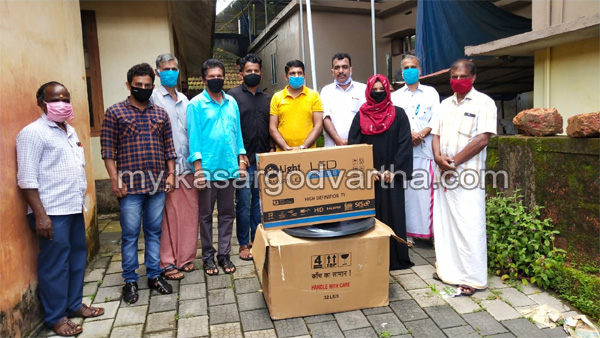 Kerala, News,  Four TVs provided by the Plus Two Alumni Association