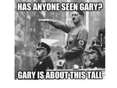 Has Anyone Seen Gary? Gary is about this tall