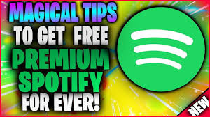 Free Spotify Premium acccount for 2021