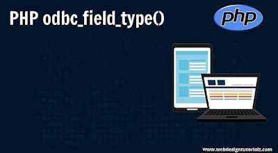 PHP odbc_field_type() Function