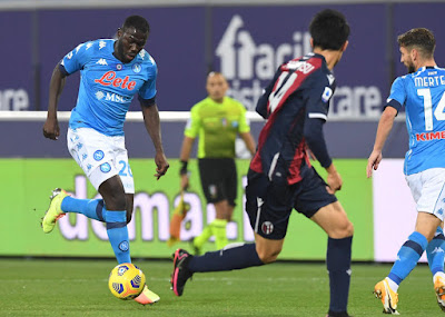 ملخص وهدف فوز نابولي علي بولونيا (1-0) الدوري الايطالي