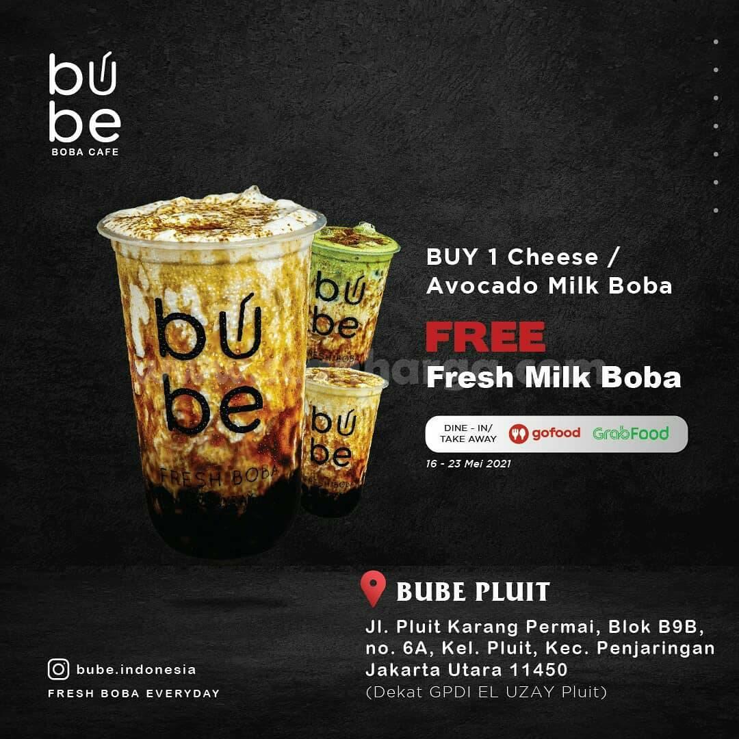 BUBE PLUIT Penjaringan Opening Promo - Beli 1 Gratis 1
