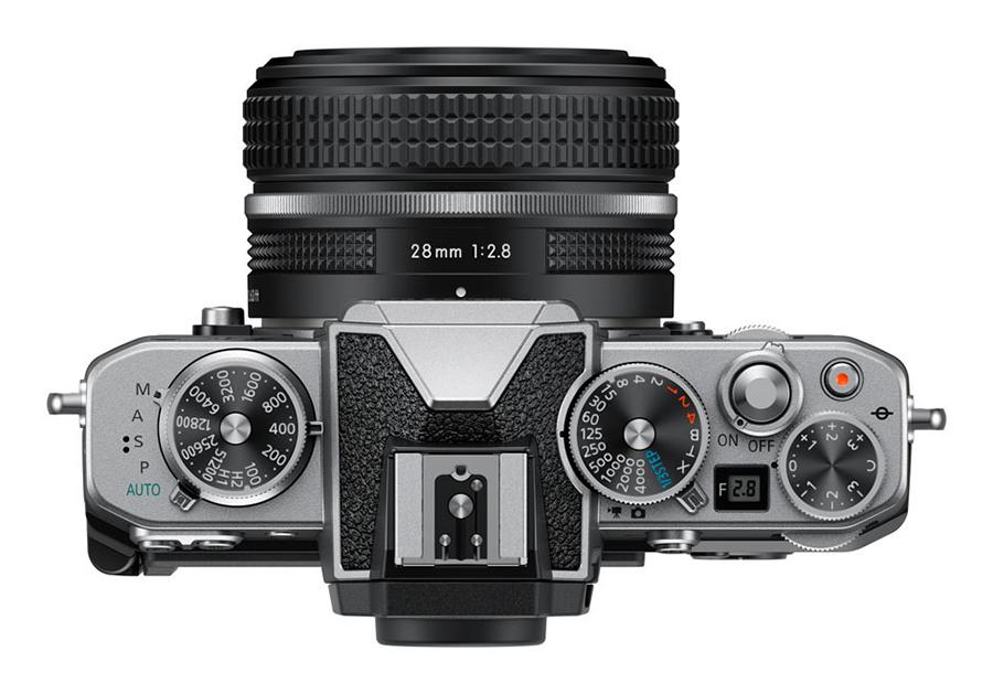 Nikon Zfc top plate