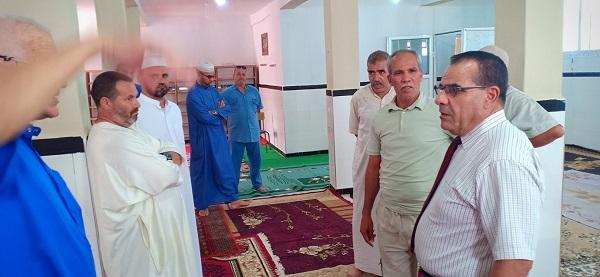 زيارة  ميدانية لمدير الشؤون الدينية لولاية مستغانم لسيدي علي