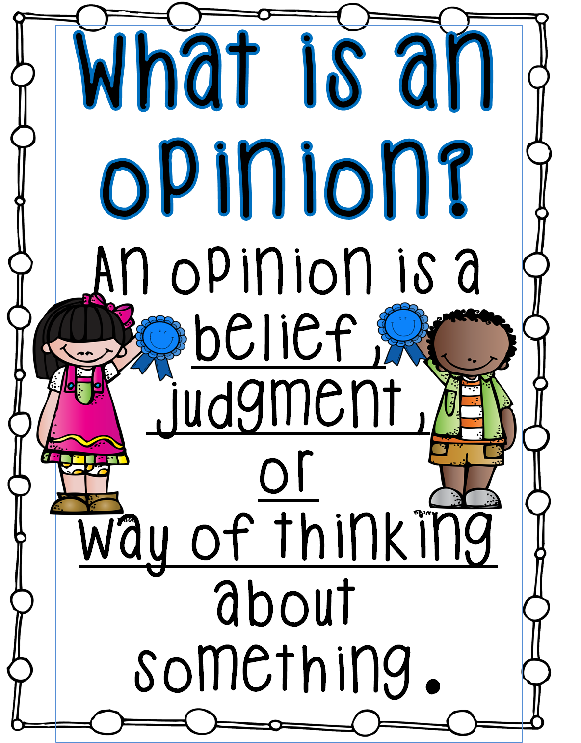 1st grade opinion writing activities