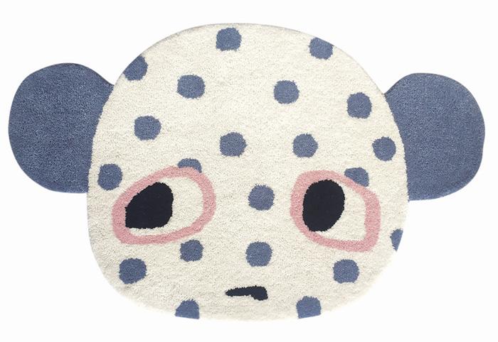 Luckyboysunday Gorby rug