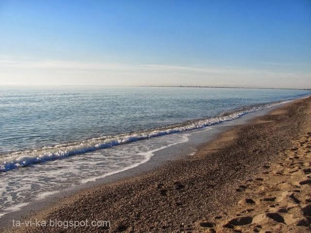 Черное море Каламитский залив
