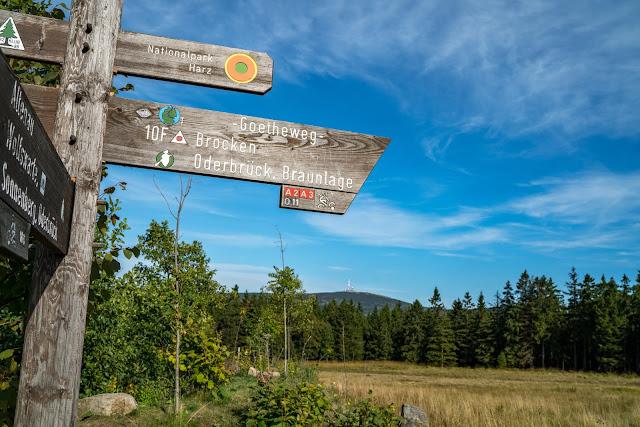 5 Wanderwege auf den Brocken im Harz  Zu Fuß auf den Brocken wandern - Wanderwege auf den Brocken im Überblick 04
