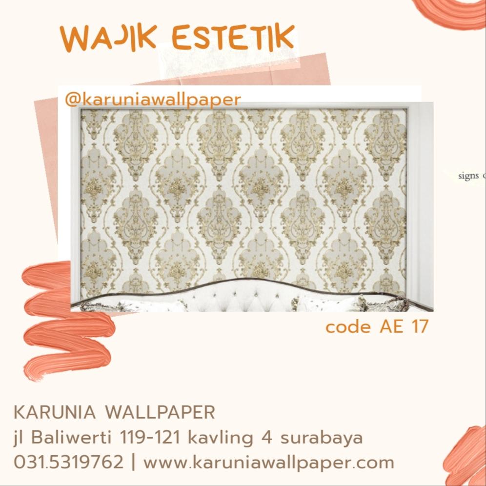 jual wallpaper dinding estetik surabaya