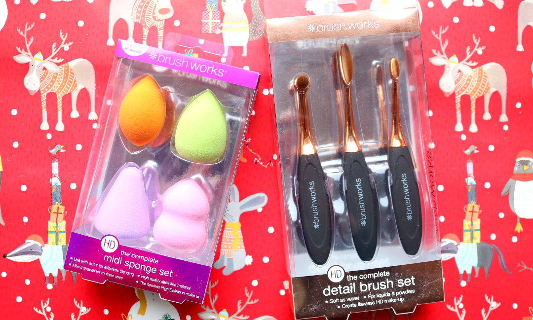 Brushworks HS Midi Sponge Set