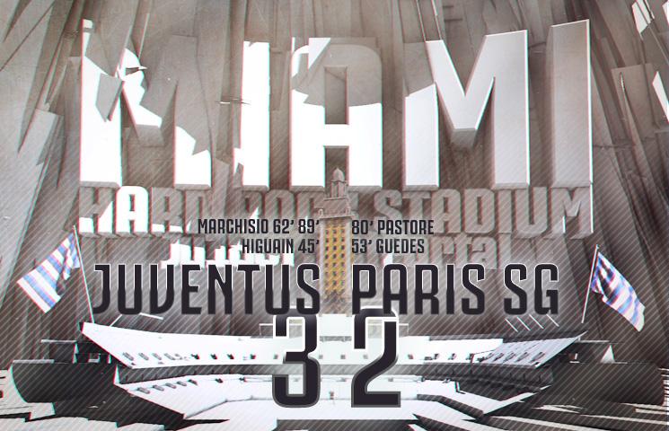Prijateljska utakmica / Juventus - PSG 3:2 (1:0)