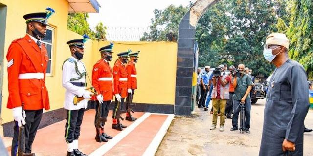 Sanwo-Olu awards scholarship to children of policemen who died in #EndSARS violence