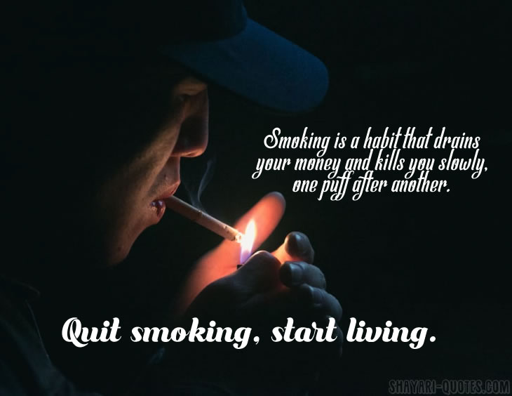 Smoking Quotes | Motivation To Quit Smoking Inspirational Quotes Messages And