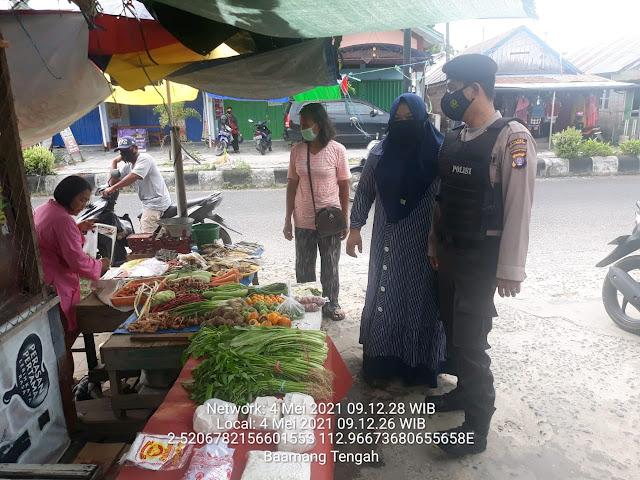 Patroli Rawan Pagi Polsek Baamang
