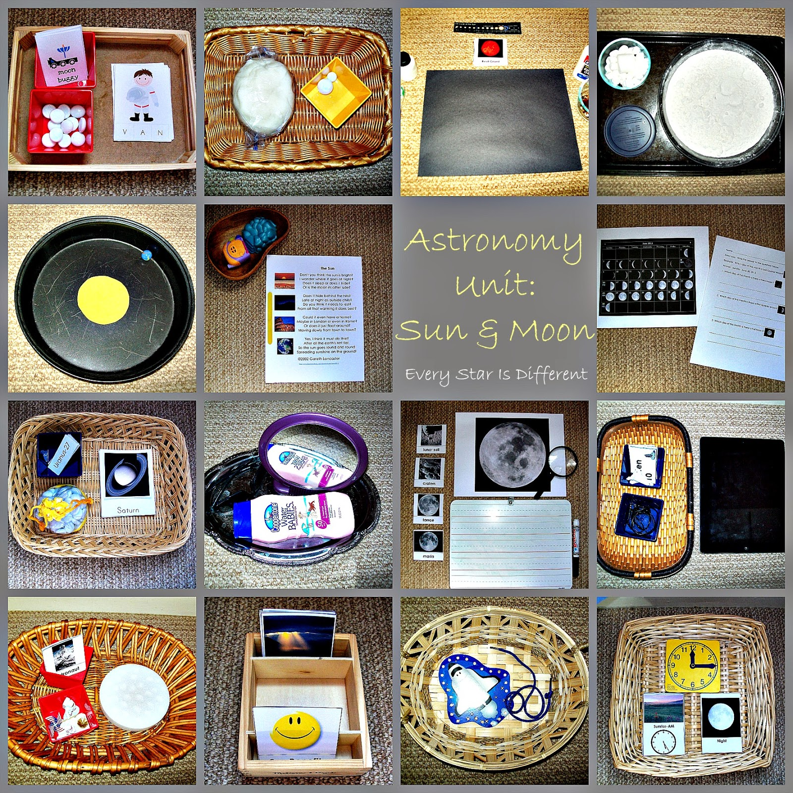 Montessori Inspired Astronomy Resources For Kids