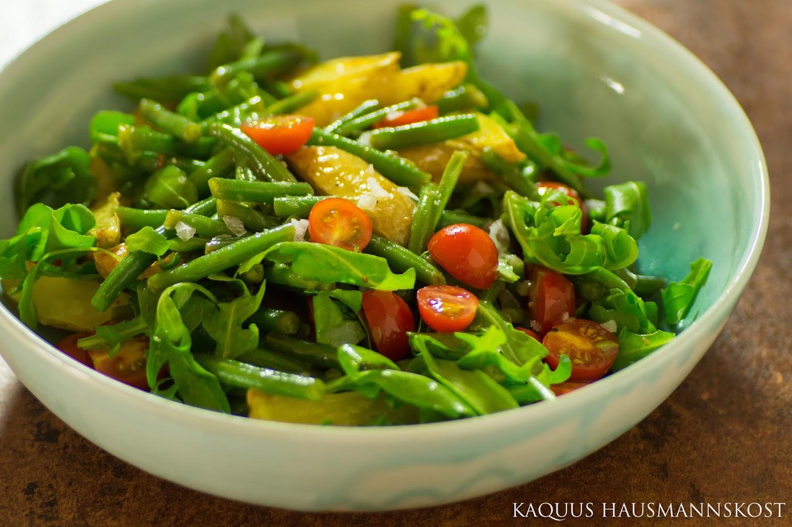 kaquus hausmannskost salat mit gebackenen kartoffeln nach siebeck. Black Bedroom Furniture Sets. Home Design Ideas