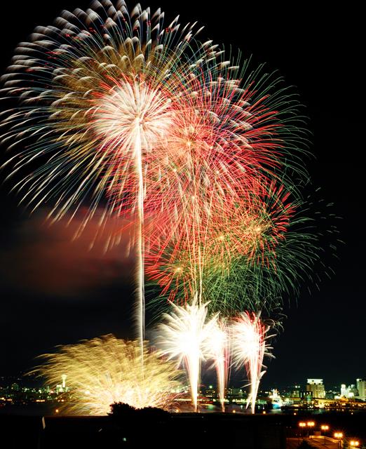 Hakodate Port Festival (Dance & Fireworks), Hokkaido