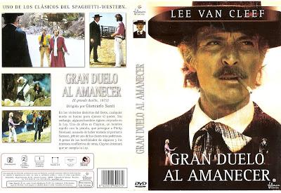 Carátula dvd: Gran duelo al amanecer (1972)