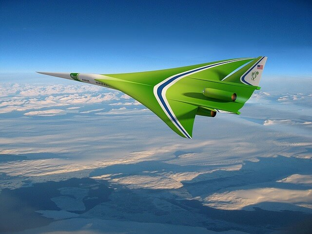 طائرة اسرع من الصوت