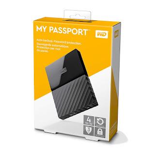 WD 4TB USB 3.0