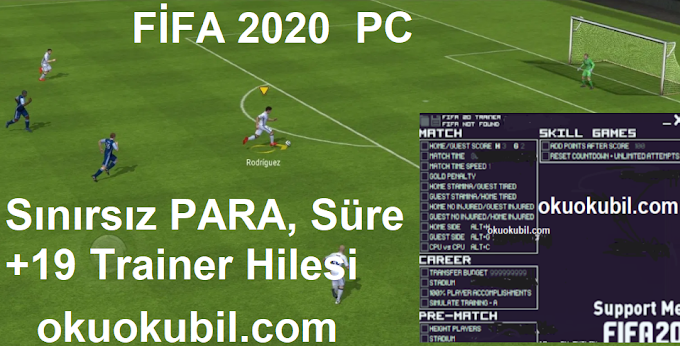 Fifa 2020 (PC) Süre +19 Trainer, Sınırsız PARA Hilesi İndir Yeni 5 Ekim