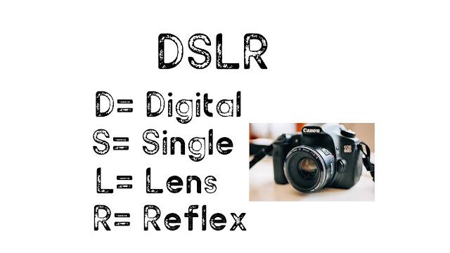 DSLR Full Form, What is the Full form of DSLR?