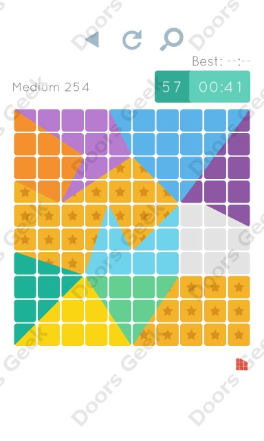 Cheats, Walkthrough for Blocks and Shapes Medium Level 254
