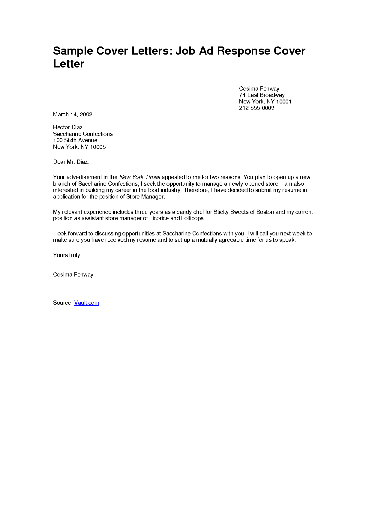 Simple Cover Letter Format 2018 Birthday Letter