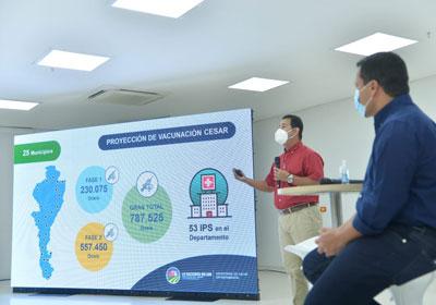 hoyennoticia.com, Al Cesar llegan 1.050 vacunas contra Covid-19  esta semana