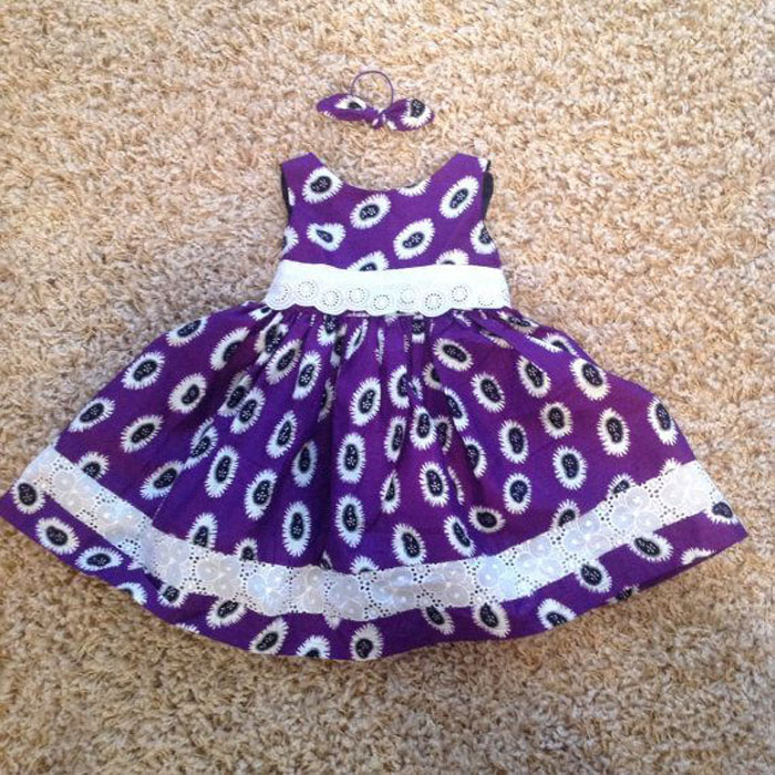 Ankara Baby Skirt Designs